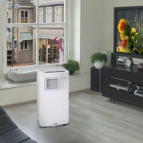 mobile klimaanlage eurom 9000btu klimager t wohnung b ro wohnwagen. Black Bedroom Furniture Sets. Home Design Ideas