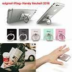 iRing Premium UNIVERSAL Smartphone Ständer, Haltegriff, Selfie Ring & Autohalterung, DAS ORIGINAL, Selfie Ständer, Handy Ring, Handyhalterung Auto, Kfz Halterung, Style Ring
