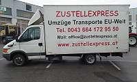 Der Zustellexpress in Salzburg ist Ihr erster Ansprechpartner für Übersiedlungen in Salzburg und ganz Österreich. Möbeltransport, Montage und mehr!