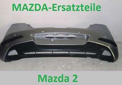 Hintere Stoßstange Mazda 2