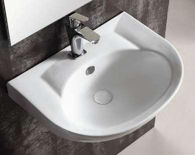 Keramik Waschbecken Waschtisch Handwaschbecken 31 50 1180