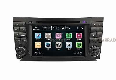 CARRAD CR7701B Autoradio Nachrüstgerät für MERCEDES BENZ E KLASSE W211 7