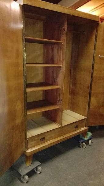 wir bersiedeln nach regau florianistrasse 25 schrank art deko 1930 bringen sie uns ihre. Black Bedroom Furniture Sets. Home Design Ideas