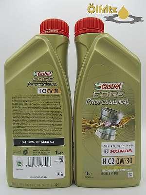 Castrol EDGE Professional H C2 0W-30 Titanium Technology Motoröl 1l Flasche