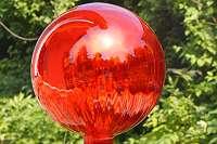 WIEDER VOLL IM TREND! Wunderschöne Rosenkugeln aus Glas in 4 Größen! Gartendeko