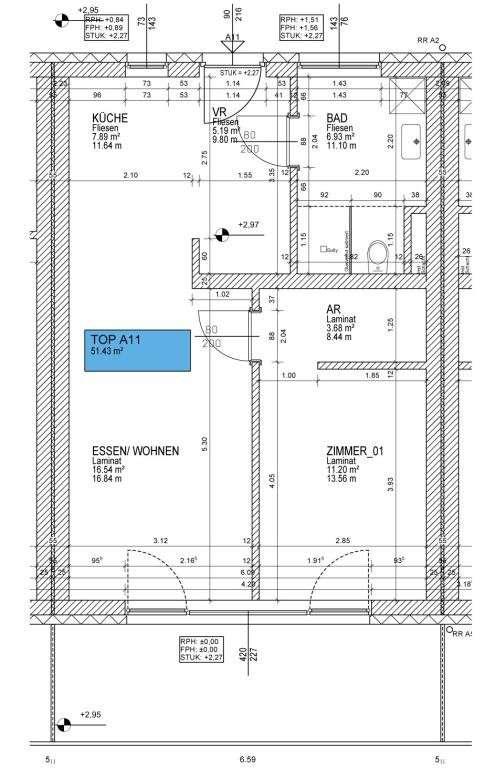 51 m2 neubau mietwohnungen mit tiefgaragenplatz 51 m. Black Bedroom Furniture Sets. Home Design Ideas
