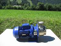 Kreisel Industrie Pumpe KSB Etachrom BC 025 - 160 / 402 Kreiselpumpe 3 x 400 V Edelstahl Industriepumpe P15/429