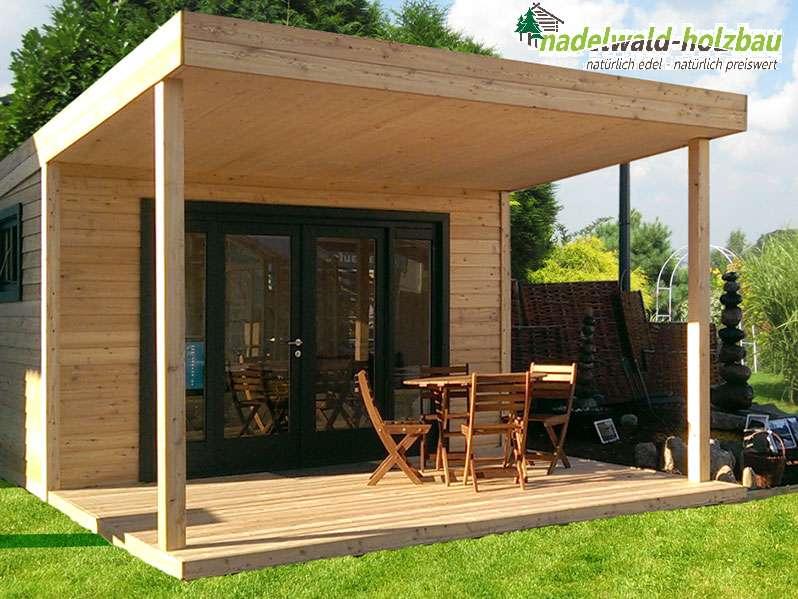 Gartenhaus Lisa mit offener Terrasse - Aktion, € 4.220,- (2751 ...
