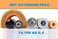 Ölfilter, Luftfilter, Kraftstofffilter, Innenraumfilter für jede Automarke!