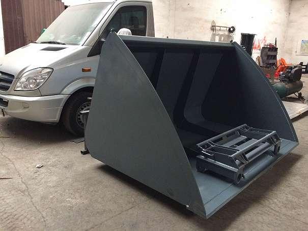 SCHAUFEL XXL - VOLUMEN SCHAUFEL 1300x1400x2200 mm WEIDEMANN / LIEBHERR/ KAMATSU