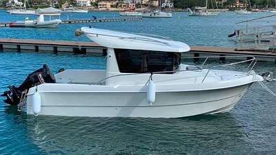 Texas 610 Pilothouse Motorboot mit Spüle/ WC/ Elektoinstallation uvm.