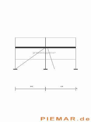 Kompatibiles Typ Layhergerüst ca. 27 m² Stahlboden L 3,07 Fassadengerüst Typ Layher Gerüst Stahlrahmen Baugerüst NEU