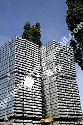 Stahlboden L 2,57 Kompatibiles Baugerüst Typ Layhergerüst ca. 56 m² Fassadengerüst Typ Layher Gerüst Stahlrahmen NEU