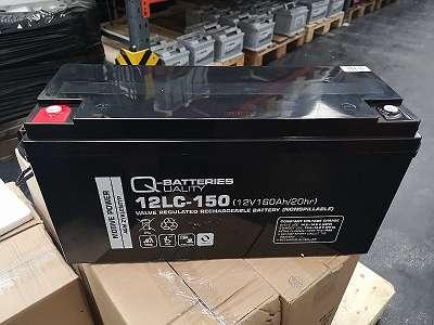 12LC150 AGM Antriebsbatterie für div. GRAF CARELLO Elektrofahrzeuge