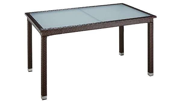 B Ware Tisch Gartentisch Madeira 632451 Gartenmöbel 30 4882