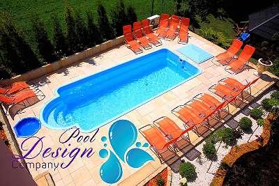 NEU GfK Schwimmbecken NEU Swimmingpool Imperial 8,50 m x 3,70 m x 1,55 m Full SET