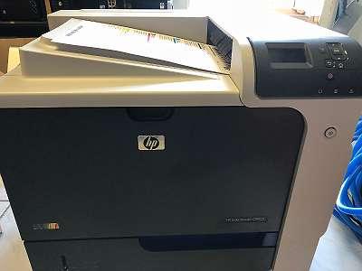 HP Color Laserjet CP4025NColor LaserJet Farblaser Enterprise CP4025 professional Unternehmen Drucker mk1 zz 012 dr tng