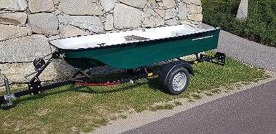 NEU 340 FF Angelboot Ruderboot Motorboot Badeboot GFK Boot