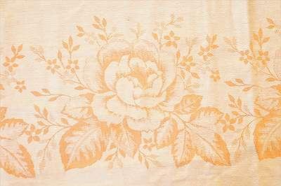 RIESIG 6 - sehr schönes, original altes Tischtuch aus hochwertigem Baumwoll-Damast | Tafeltuch Fest Feier Wohnzimmer Küche Tischdecke diverse Farben und Muster Geschirr Set