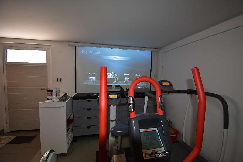 Garage als Fitnessraum