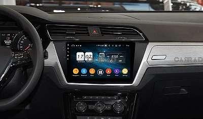 CARRAD Autoradio Nachrüstgerät fü VW PASSAT TOUAREG T-ROC TIGUAN 10