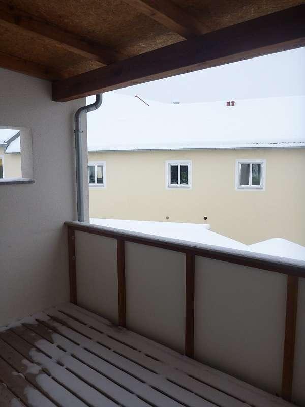 Balkonwohnung im Reihenhaus