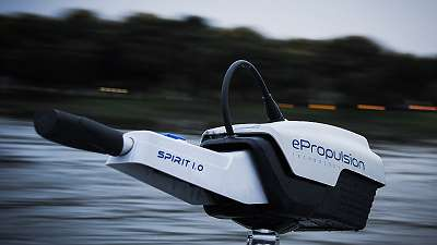 e Propulsion Spirit 1.0 / optional Spirit 1.0 Plus Elektro Außenborder Pinne