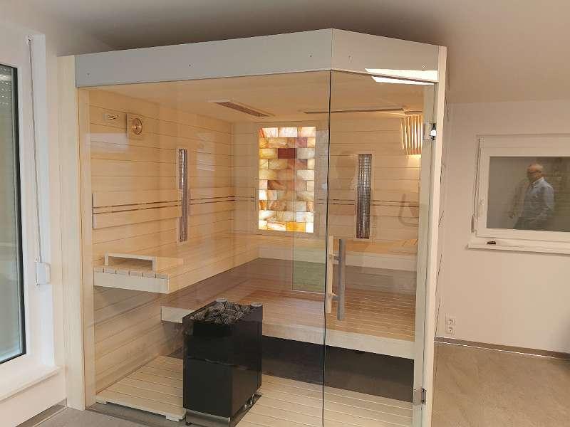 Luxus Bio Kombi Sauna