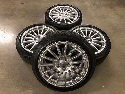 Original Audi S-line 15 Speichen Alufelge 8j 18Zoll ET43 245/40R18 97Y Pirelli