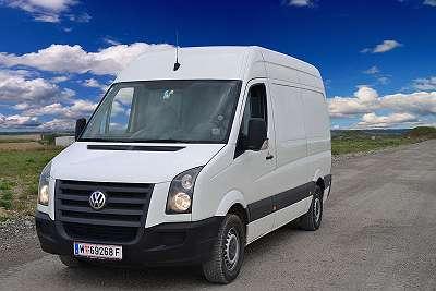 Kleintransporter mit Fahrer einfach mieten - LASTENTAXI, MÖBELTAXI, Wien/Österreich & Europaweit