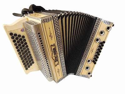 Steirische Harmonika Strasser Natur Serie Fichte