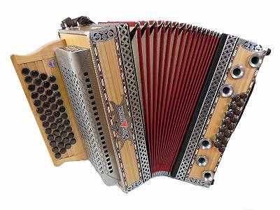 Steirische Harmonika Strasser Professional Natur Kirsch