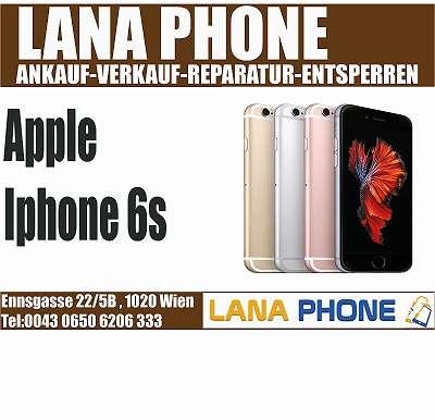 iPHONE 6S Space Gray 128GB TOP ZUSTAND MIT ALLEN ZUBEHÖREN