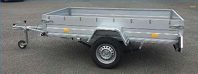 Pkw Anhänger Tieflader 250x130cm 750 kg