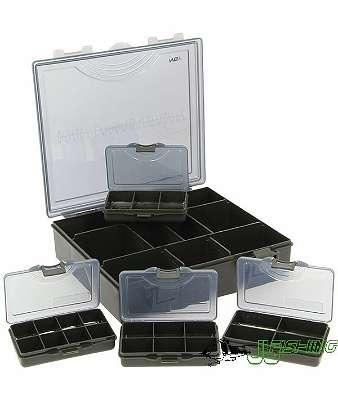 NGT 4 + 1 Tackle Box Black