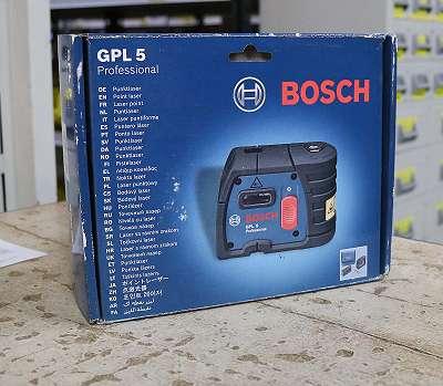 BOSCH Lasergerät 5-Punkt (GPL5) inkl. Stofftasche