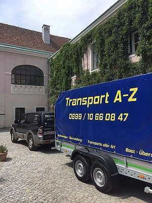Übersiedlung - Überstellung Transporte aller Art Transport- Lieferservice