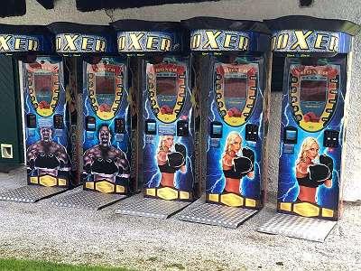 Boxautomaten/ Kraftautomat