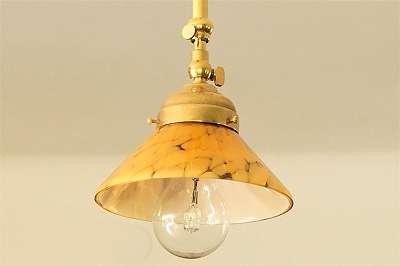 Tolle, neue Zuglampe im Vintage-Design - mit Schirm – Fassung ca. 6 cm Licht Lampe Deckenlampe Leuchte Hängelampe