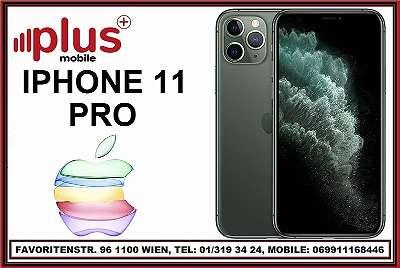 IPHONE 11 PRO 64GB NACHT GRÜN & GOLD & SILBER , NEU , OVP , WERKSOFFEN , GARANTIE , PLUS MOBILE !