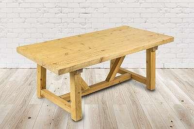 Esstisch Altholz, Tisch Premium, Sonderaktion - Ausstellungsstück