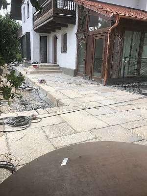Alte Granitplatten Gredplatten