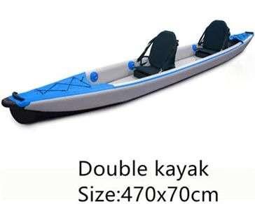 Full Drop Stitch Kajak/ Kanu 2 Person Inflatable