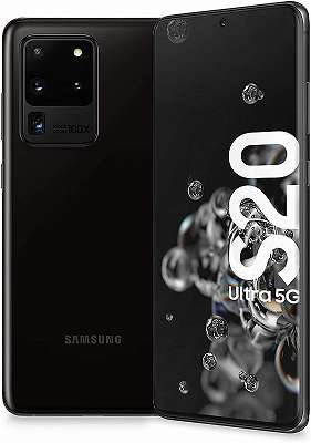 samsung Galaxy S20 Ultra 5G 128gb Cosmic Black / Schwarz m1 {3}