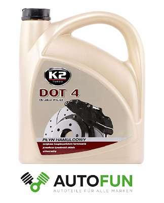 Chemie Bremsenreiniger/ Bremsreiniger/ Brake Cleaner K2 K2W104; Bremsflüssigkeit K2T114 5L