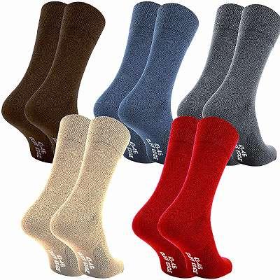 Atmungsaktive Business-Socken aus gekämmter Baumwolle