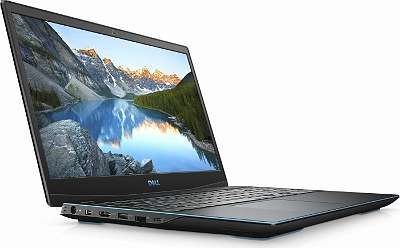 Gaming Laptop Dell G3 15 3500 Eclipse Black, Core i5-10300H, 16GB RAM, 256GB SSD, 1TB HDD, beleuchtete Tastatur, GeForce GTX 1650 Ti, 120Hz (KJGP7)
