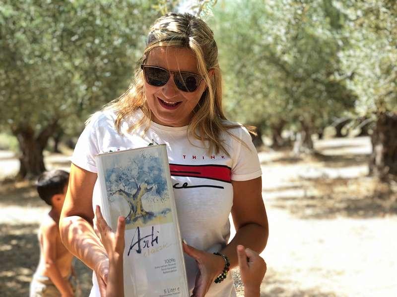 griechisches Olivenöl 5 Liter - 100% reinsortig, kaltgepresst und von einem Jahrgang