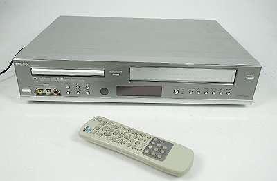 GPX VCD 6030 6-HEAD VHS VIDEORECORDER / DVD PLAYER + FB KOMBIGERÄT - SEHR SCHÖNES BILD - WENIG BENUTZT