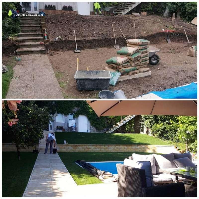 Gartenbau Gartengestaltung Gartenplanung Gartenarbeit